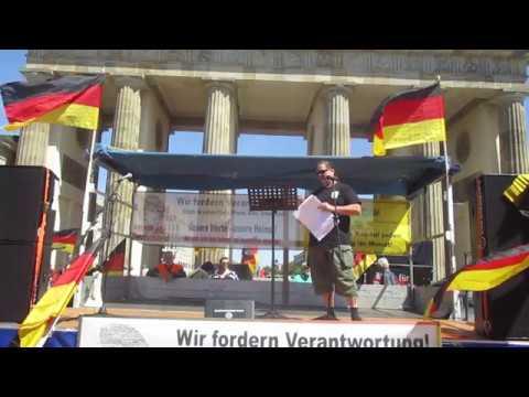 """Dirk (""""BfD""""), Rede in Berlin 20.5.2018  Demo """"Biker für Deutschland"""""""