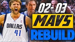 REBUILDING THE '02 - '03 DALLAS MAVERICKS!! DIRK AND NASH are UNSTOPPABLE!! 🔥 -  NBA 2K17 MYLEAGUE
