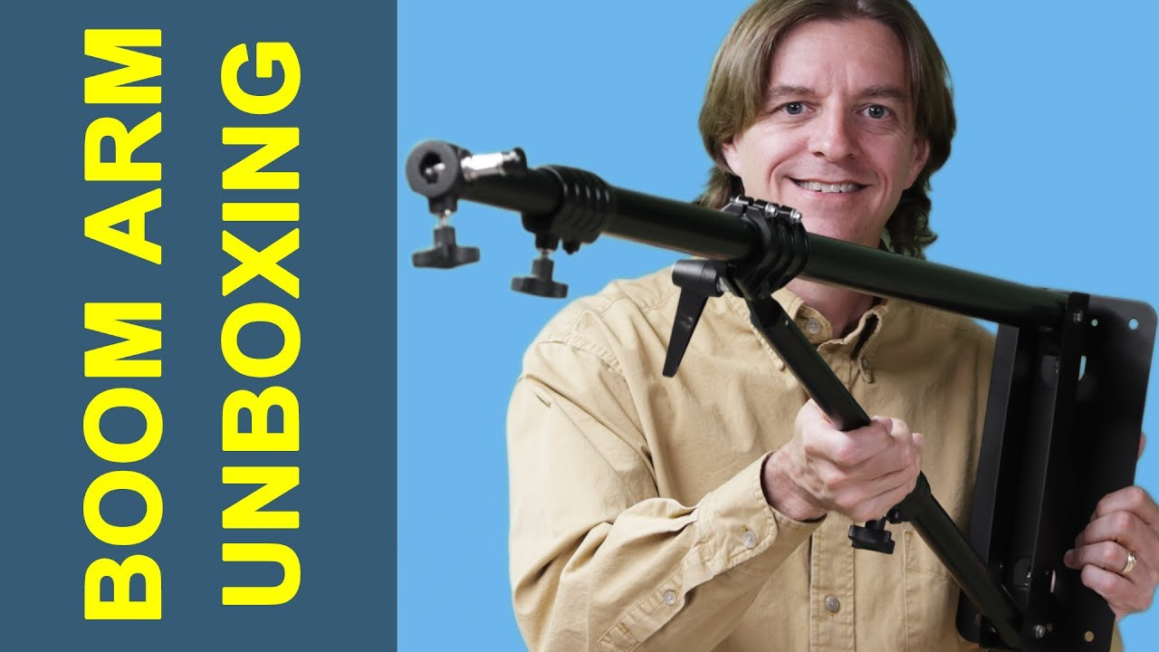 Unboxing An Impact 7 Wall Mounted Boom Arm For