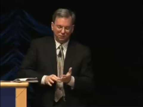 Eric Schmidt On Policy Priorities For 2009
