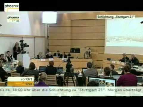 19.11.2010 S21 Schlichtung, Teil 8 (von 17.00 bis 18.10 Uhr)