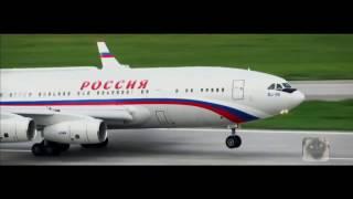 Ил-96-300(ПУ) - Самолет Президента России (ролик)(, 2016-11-12T07:51:24.000Z)
