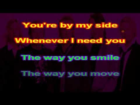 Secret Service   The Way You Are   karaoke