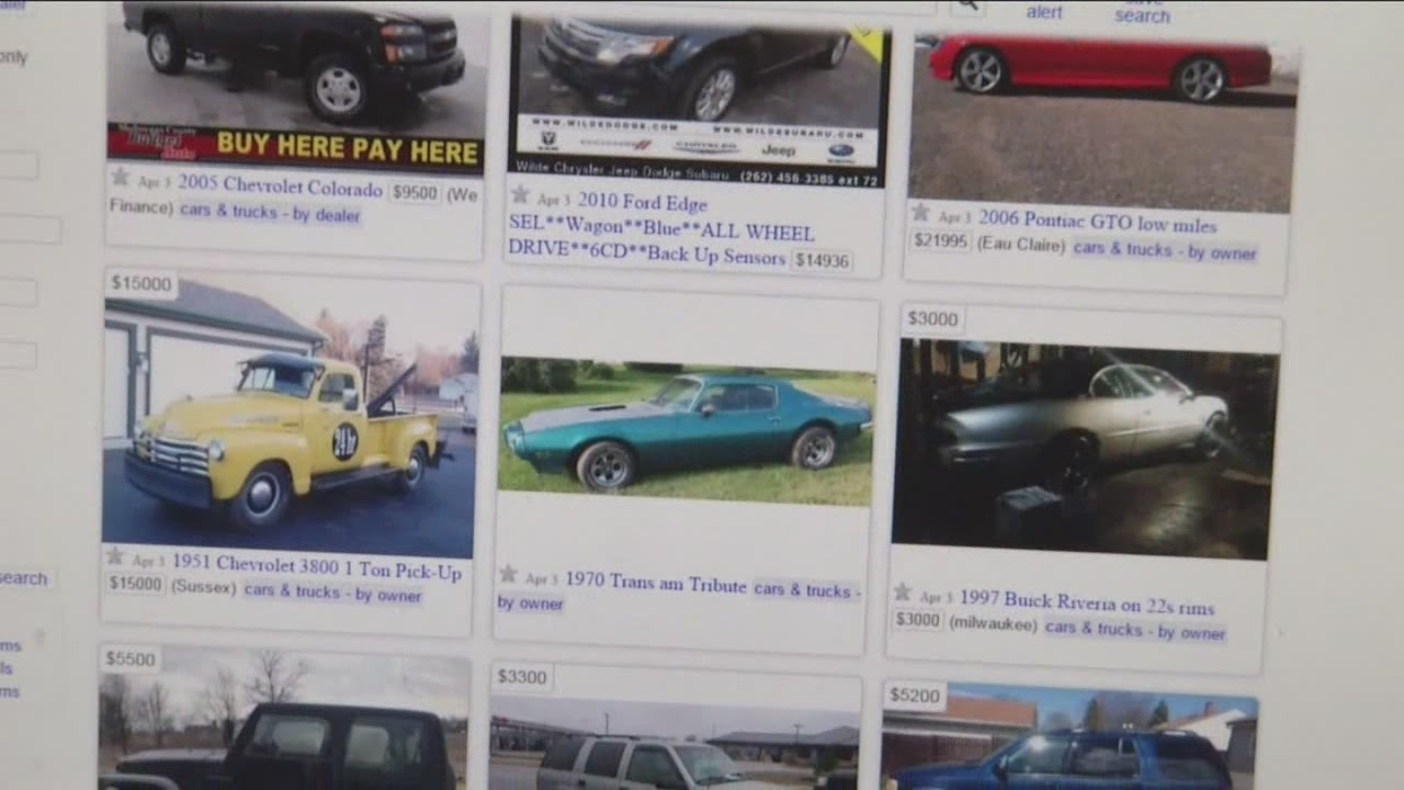 Craigslist car sale turns into armed robbery for Racine woman
