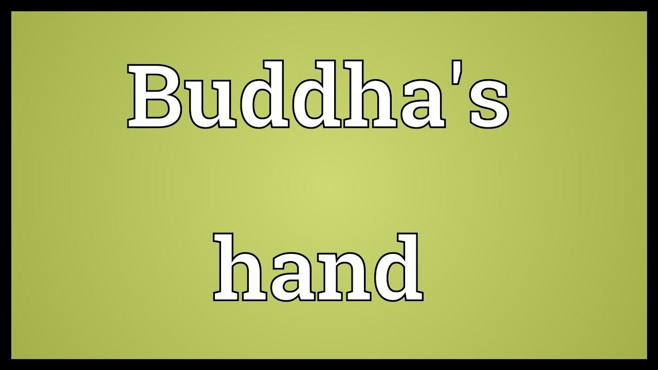 Buddhas hand meaning youtube buddhas hand meaning buycottarizona