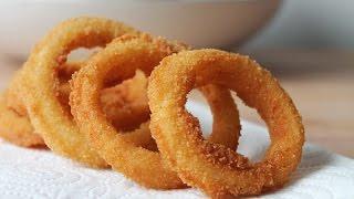 Onion Rings Selber Machen (Rezept) || Homemade Onion Rings (Recipe) || [ENG SUBS]