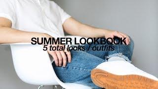 Summer Lookbook | Five Summer Outfit Ideas 2017