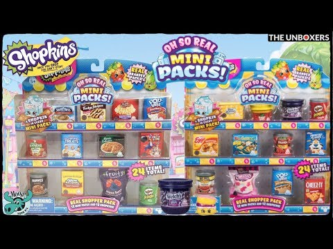 Shopkins Oh So Real Limited Edition Mini Packs