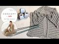 Knitting Tip Vest Silk Cotton | Concept 3 Mod 09a