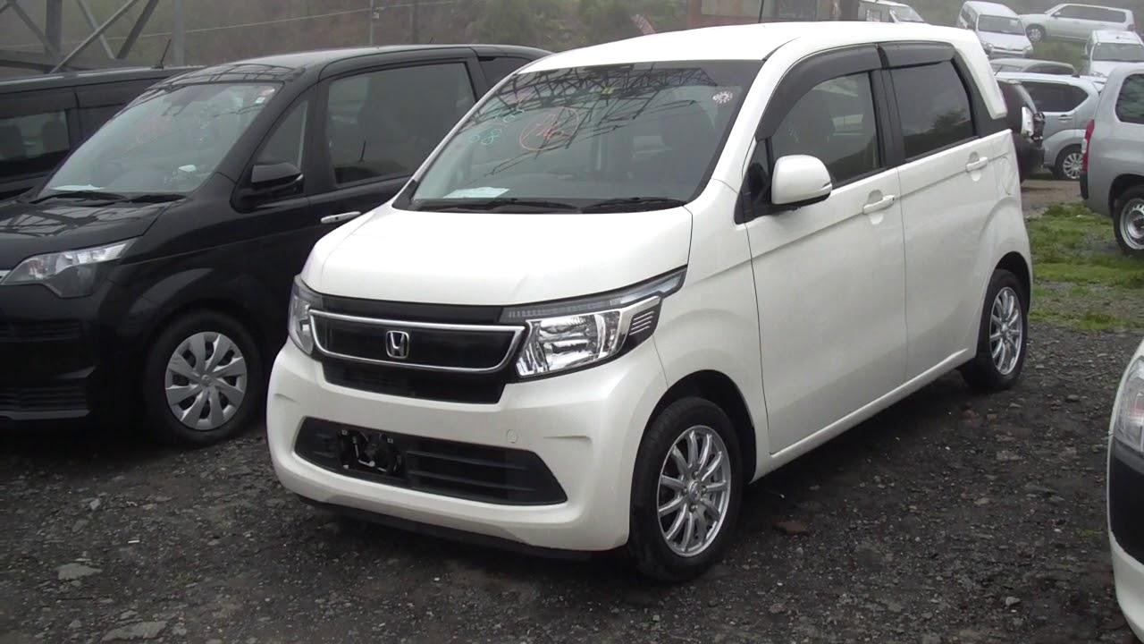 Honda N WGN 2015 г - YouTube
