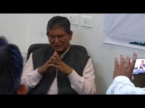 Harish Rawat Ex Cm Uttarakhand In On Illegal Mining In Uttrakhand नरदा टैक्स के कारण महंगी है रेत
