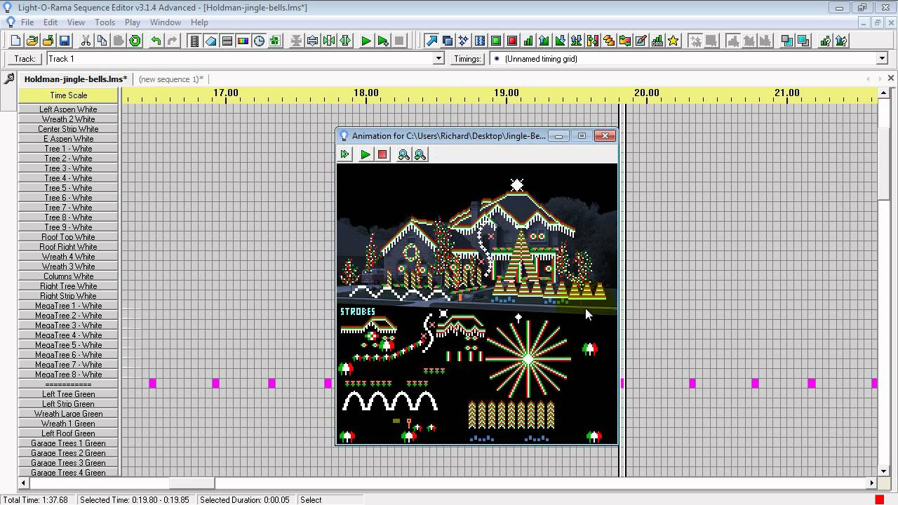 How to Cut and Paste Sequences in Light-O-Rama