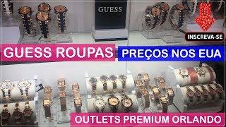 GUESS ROUPAS Orlando Premium Outlets com Preços no Viajar Muda Tudo!