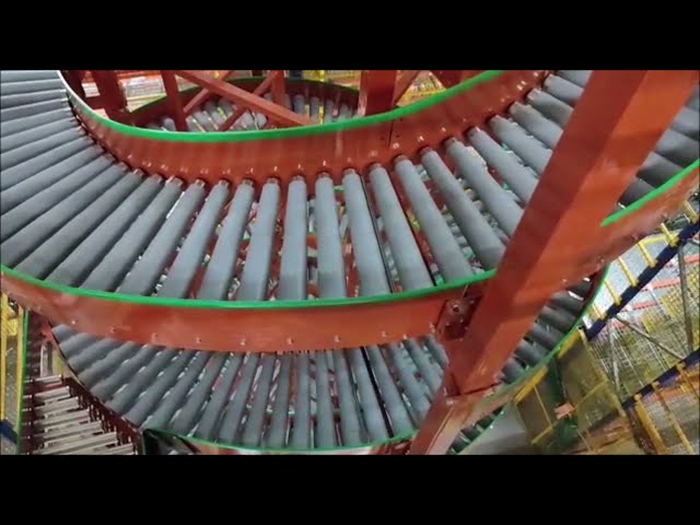 Canopus Spiral Conveyor Helping in Continuous Vertical Movement of Items | Vertical Conveying