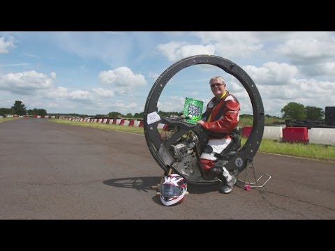 Guinness World Record: Monocycle smashes old record