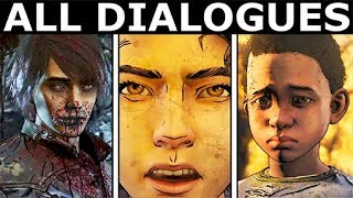 The Cave Scene - All Dialogues & Choices - The Walking Dead Final Season 4 Episode 4: Take Us Back