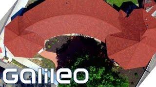 Skurrile Orte von oben | Galileo | ProSieben