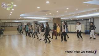 Whistle While You Work It - Line Dance