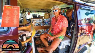 Living FULLTIME In A Custom DIY WESTFALIA CAMPER VAN