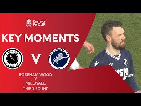 Boreham Wood Millwall Goals And Highlights