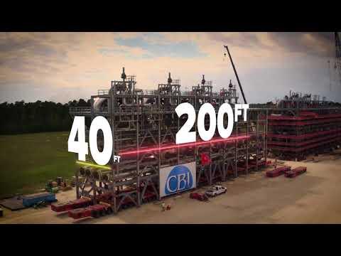 Project Milestone – Freeport LNG Liquefaction Module