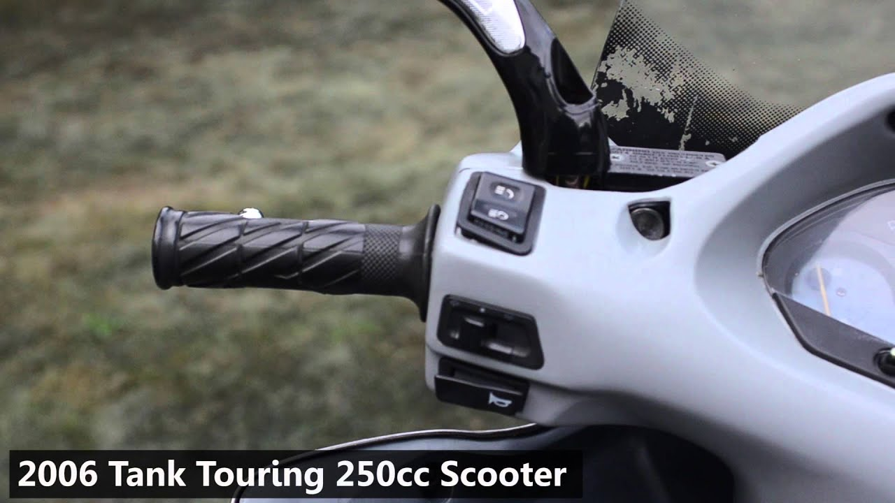 For 2006 Tank Touring Scooter 250cc