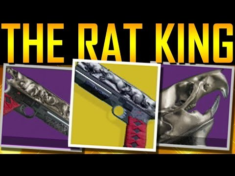 Destiny 2  HOW TO GET THE RAT KING! Exotic Quest!