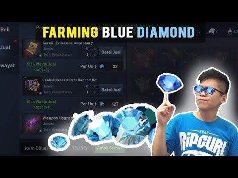 FARMING BLUE DIAMOND BIAR NTAR DIKIRA SULTAN! -  LINEAGE2 REVOLUTION INDONESIA