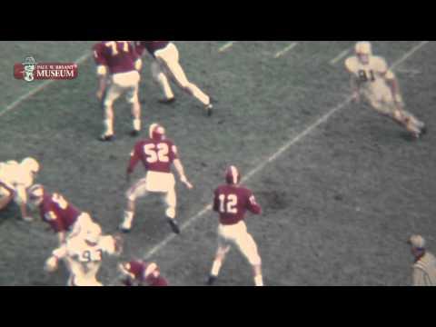 1968 Alabama vs. Auburn Highlight Clip