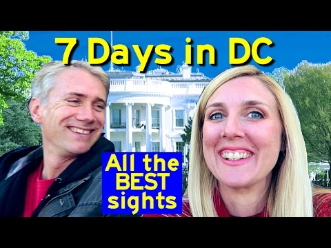 7 days in DC! All the best things to see in one week in Washington (FREE!) The Solomon Family Vlog