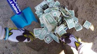 connectYoutube - WE FOUND BURIED MONEY!