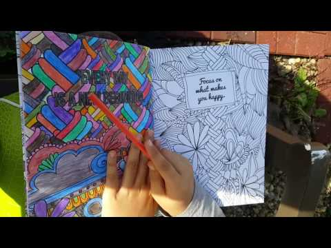 Adult Coloring Book Review with Jellybean Joy! I LOVE Coloring!