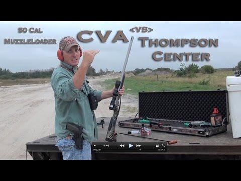 CVA/Burris Eliminator vs TC/Nikon BDC 50cal. Muzzleloader