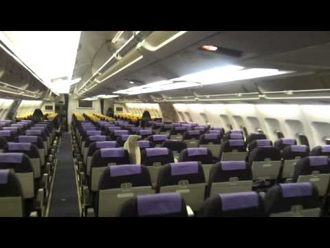Airbus A300/600 Inside Cabin