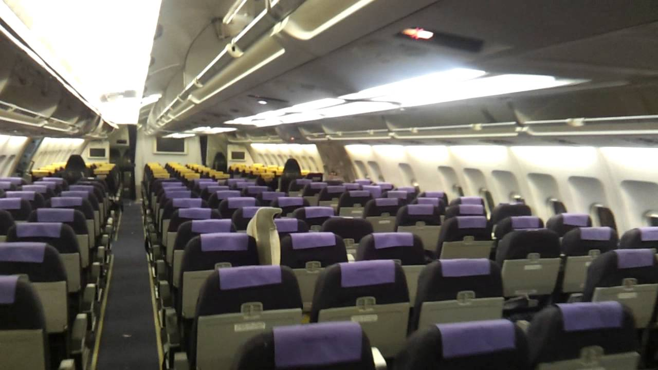 airbus a300600 inside cabin youtube