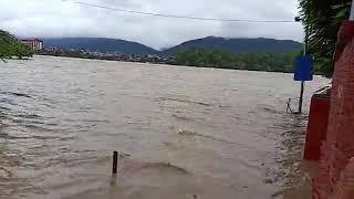 फेरि उर्लियाे नारायणी नदी ।। Narayani river flooding in chitwan