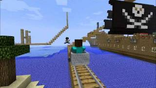 Repeat youtube video Epic Minecraft Rollercoaster