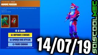 BOUTIQUE FORTNITE 14 SEPTEMBRE 2019, NOUVEAU SKINS, ITEM SHOP SEPTEMBER 14, 2019