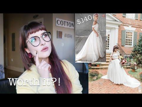 My $140 Wedding Dress From China