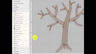 Branching Tool - Hatch Embroidery Software Tutorial