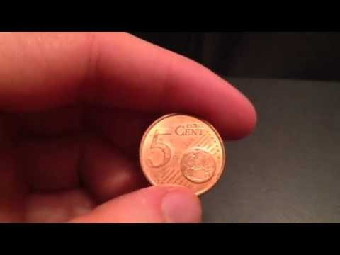 5 Euro Cent. Date: 1999