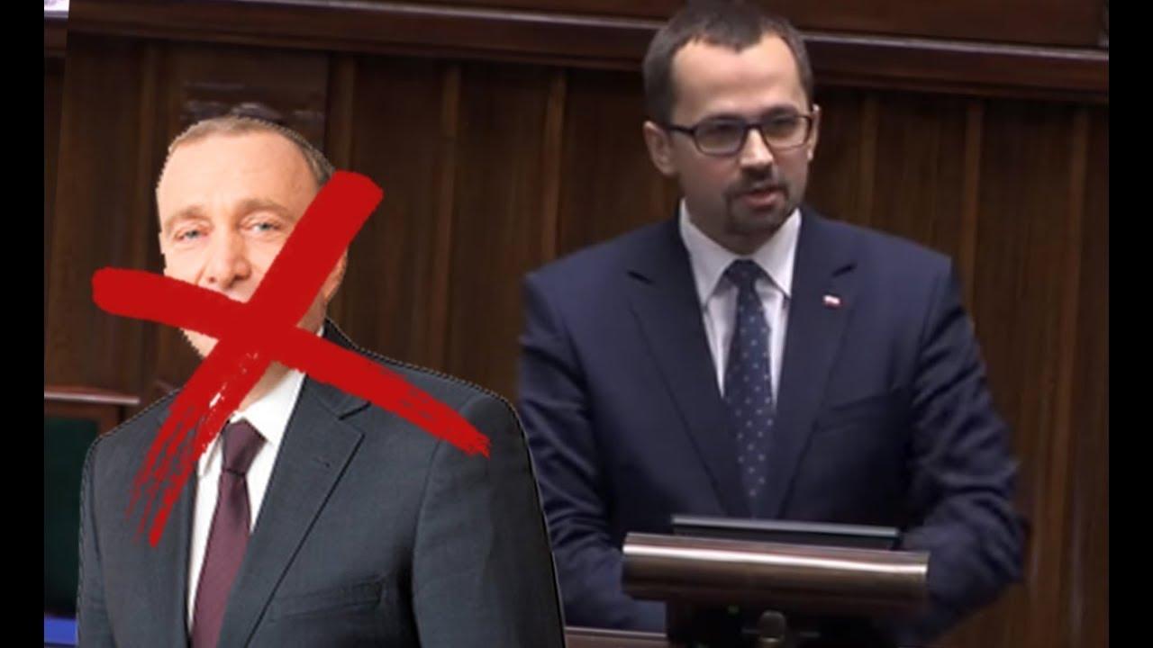 Marcin Horała (PiS, KoLiber) piękne podsumowanie przemówienia Schetyny!