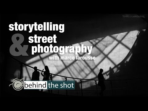Storytelling & Street Photography with Marco Larousse