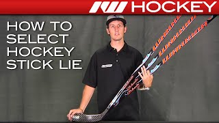 How to Select Hockey Stick Lie