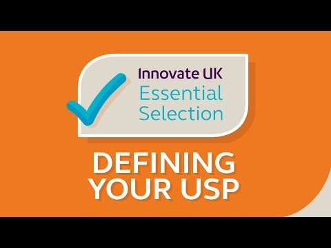 Innovate UK's essential tips for defining your USP