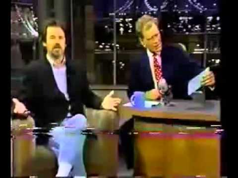 Dennis Miller briefly talks about Bordello of Blood on The Late Show (1996)