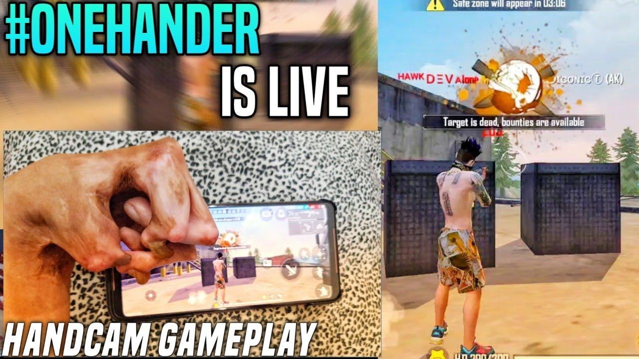 Free Fire Live - One Hand Player Is Live - Game Is Not Open - Garena Free Fire