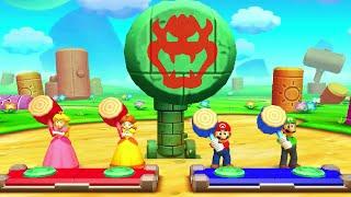 Mario Party The Top 100 - All Team Minigames (Peach & Daisy)