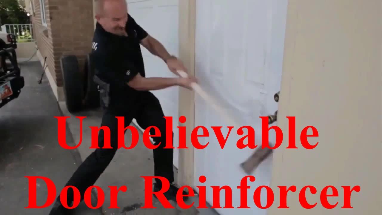 Reinforced Front Door Frame - Unbelievable Door Reinforcer - YouTube