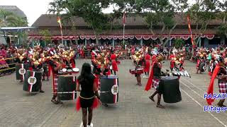 Drumblek District fourteen  Event Parade Drumblek HUT drumblek DK ke 3 12 Agustus 2018